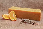 Orange Lemongrass Goat Milk Soap Loaf