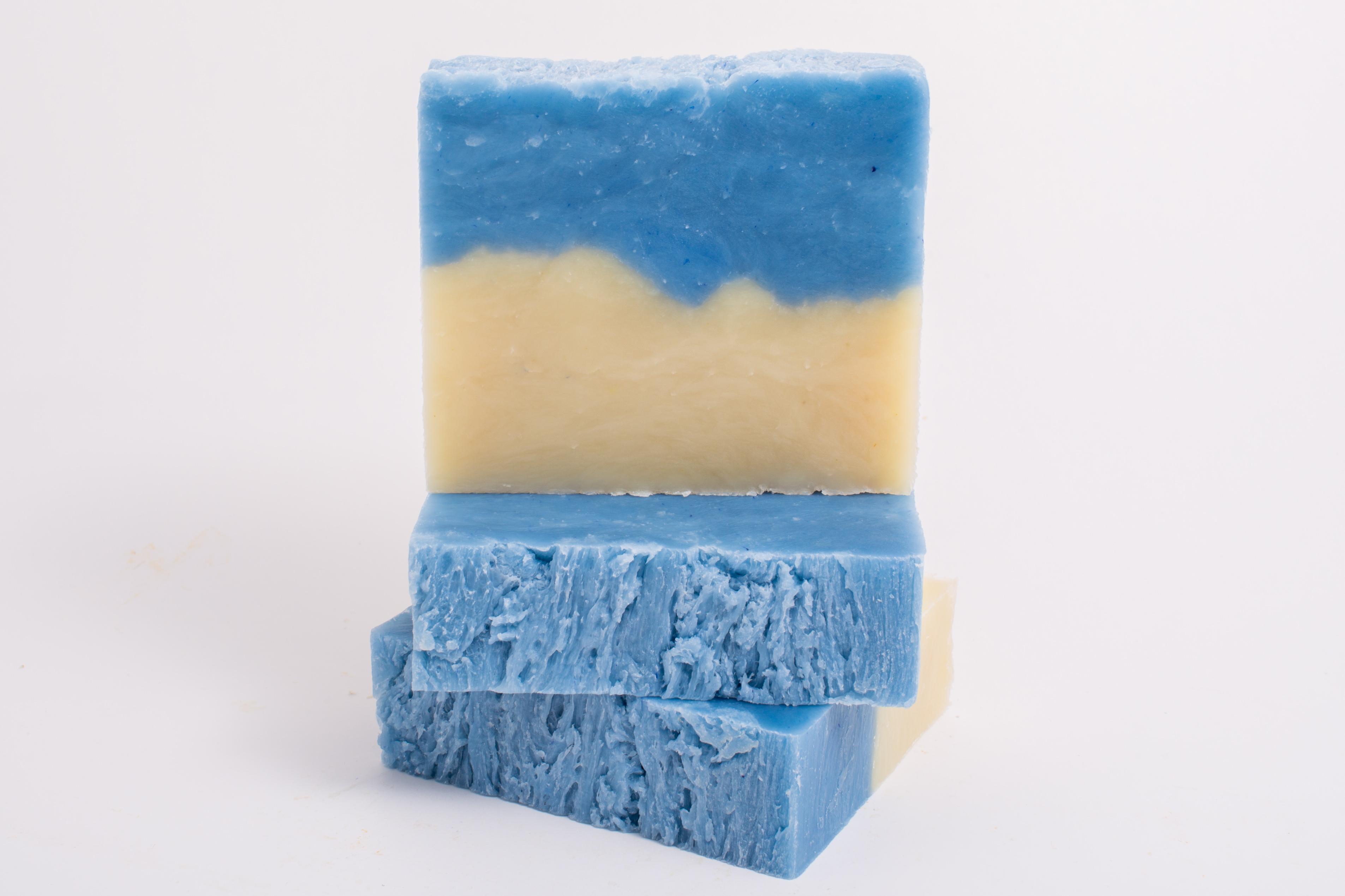 ocean breeze handmade soap