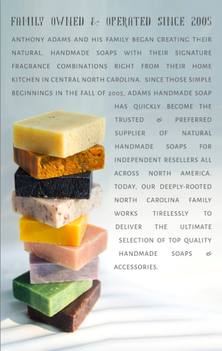 Natural Soap Business - Adams Handmade Soap Wholesale