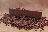 Fresh Brewed Coffee Goat Milk Soap Loaf