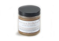 Antique Sandalwood Sugar Scrub with Fair Trade Organic Sugar Retail Label 10 oz
