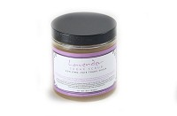 Sugar Scrub with Fair Trade Organic Sugar Lavender Retail Label 10 oz